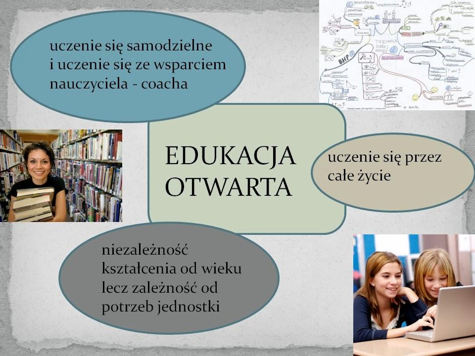 Koncepcja edukacji otwartej cz.2