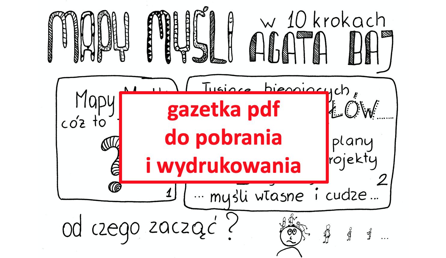 Mapy Myśli w 10 krokach (pdf do pobrania)